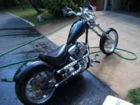2006 American Ironhorse Outlaw Chopper This cruiser