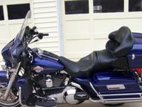 Blue 2006 Harley-Davidson Ultra Classic. I purchased it