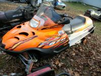 2006 Arctic Cat Z 570 LX sled snowmobile runs and drive
