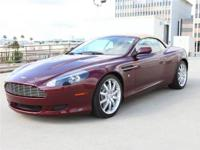 2006 Aston Martin DB9 Volante - Merlot Red with Sahara