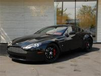 One owner V8 Vantage, special-ordered in Jet Black over