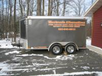 For Sale is a 2006 Atlas 7 X 12 enclosed cargo trailer