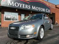 I am offering a 2006 Audi A4. It has the 2.0 T 4