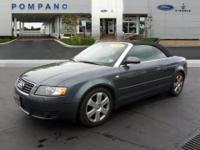 New Arrival! This 2006 Audi A4 1.8T will sell fast *Low