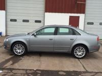 Up for sale is a 2006 Audi A4 Quattro 2.0 l turbo. It