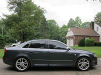 2006 AUDI S4(88,185) B7 DOLPHIN GRAY WITH NAVIGATION