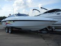 This 2006 Baja 45ss Performance speed boat is in mint