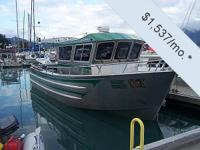 This 2007 30-ft Bay Weld Walkaround Sportfish is a