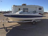 Used 2006 Bayliner 185 BR.  Interior was completely