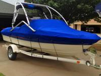 2006 Bayliner 185 BR. Clean boat with low hours and all