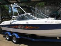 This 2006 Bayliner 205XT and ultra-reliable MerCruiser