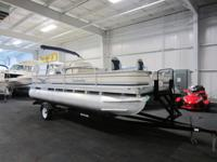 NICE 2006 BEACHCOMBER 20 CLASSIC FISH PONTOON WITH ONLY