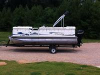 Great boat. 90 Mercury Optimax, stainless Turbo prop,