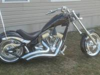Selling a Big Dog Chopper. 117 Cubic Inch's 6 Speed