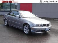 2006 BMW 325Ci Convertible, Premium, Sport and Cold