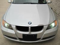 2006 BMW 325i Sport Pkg. Sedan * Silver on Black