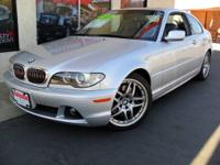 2006 BMW 3 Series 330Ci 2dr Cpe Coupe. Motor: 3.0L DOHC