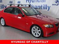 Electric Red 2006 BMW 3 Series 330i RWD 6-Speed
