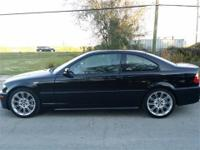 This 2006 BMW 330ci is a very rare find. It has