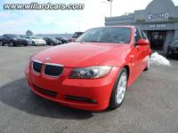 Exterior Color: electric red, Body: Sedan, Engine: 3.0L