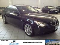 CARFAX 1-Owner, GREAT MILES 63,135! 550i trim. NAV,