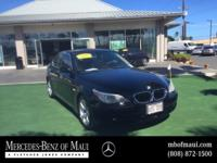 This outstanding example of a 2006 BMW 5 Series 530i is
