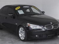 This 2006 BMW 5-Series is GORGEOUS! 2-owners, ZERO