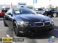 2006 BMW 6 Series 650i with Premium Aftermarket Wheels