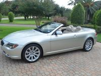 Excellent Condition BMW 650i Convertible with 38,652