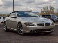 ONLY 63,001 Miles! 650Ci trim. Leather Interior,