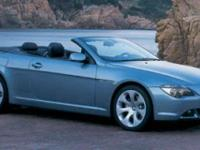 Options:  2006 Bmw 6 Series 650Ci|Blue/|V8 4.8L |73697