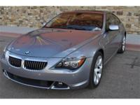 2006 BMW 6 Series 650i Coupe Sellers Notes BMW