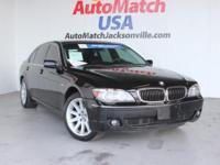 2006 BMW 7 Series Sedan 750Li Our Location is:
