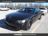 750Li trim. $1,300 below NADA Retail! Nav System,