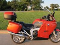 You are looking at a one of a kind BMW K1200GT with