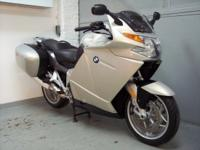 2006 BMW K1200GT, silver with only 15605miles. This