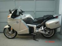 2006 BMW K1200GT, silver. This bike is in immaculate