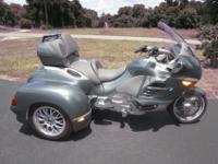 2006 BMW K1200LT TrikeThis is a rare find, a BMW Trike