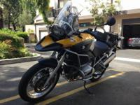 2006 BMW R1200GS. It now has low 21200 miles and it is