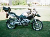 7501 miles. 2006 BMW R-Series R1200GS In exceptional