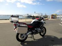 Clean Title, White BMW GS 1200 ADVENTURE Approx. 36,000