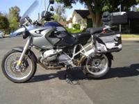 2006 BMW R1200GS, 1 owner 27,600 miles, all services