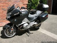 2006 bmw R1200Rt, 5575 miles. Electric windshield,