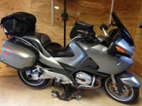 2006 R1200RT with just under 40,000 miles. Consists of