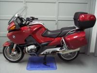 2006 BMW R1200RT, 51353 miles, red. This bike is in