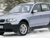 Absolutely stunning, this 2006 BMW X3 3.0i boasts