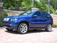 You are looking at a nice and clean  2006 BMW X5 4.8 is