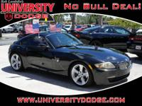 2D Coupe, 3.0L I6 DOHC 24V, Black, Dream Red w/High