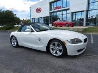 Clean CARFAX. 2006 2D Convertible BMW Z4 3.0i RWD