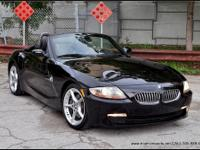 Rare 2006 BMW Z4 3.0si Roadster in BLACK SAPPHIRE